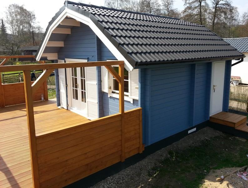 Gartenhaus friesenblau  Willkommen | Ewald Ambrosius Holzbauvertrieb